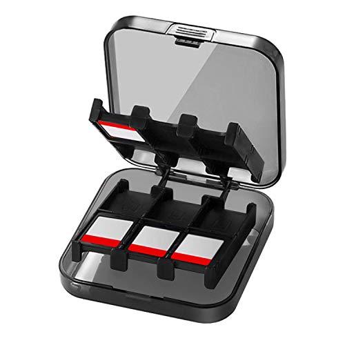 CamKix Funda de juego, compatible con Nintendo Switch - Compatible con hasta 24 juegos de Nintendo Switch - Organizador de tarjeta de juego - Contenedor de viaje - Funda dura con 24 ranuras / insertos