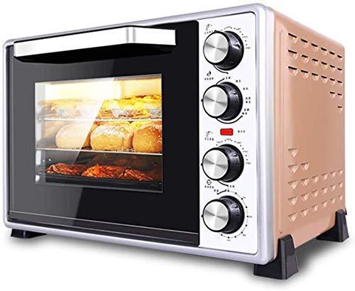 Qinmo Horno eléctrico, Bandeja de horno de múltiples funciones de sobremesa Horno...