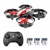 Holy Stone HS210 Mini Drohne für Kinder,RC Quadrocopter mit 3 Akkus,21 Min. Lange Flugzeit,Automatische Höhenhaltung,3D Flip,Headless Modus,One Key Start Mini Drone Ideal Geschenk für Anfänger Mädchen