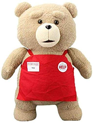 Dpprdl Ted Plush Movie Teddy Bear Ted 2 Plush Doll Toys in Apron...