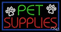 17x32x1 インチ Pet Supplies アニメーション点滅LEDウィンドウサイン