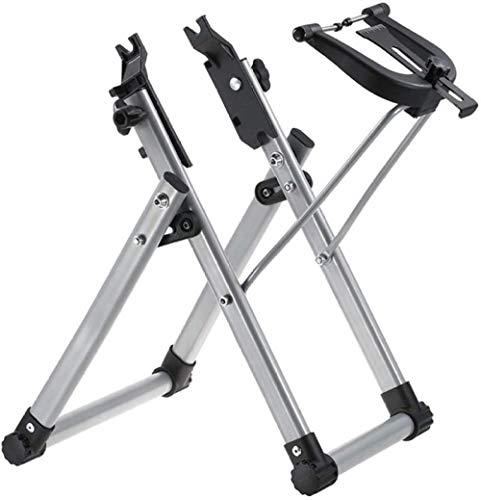 Soporte profesional plegable para rueda de bicicleta, herramienta de mantenimiento de llantas de reparación de bicicletas, soporte mecánico para ruedas de 16 a 29 700C