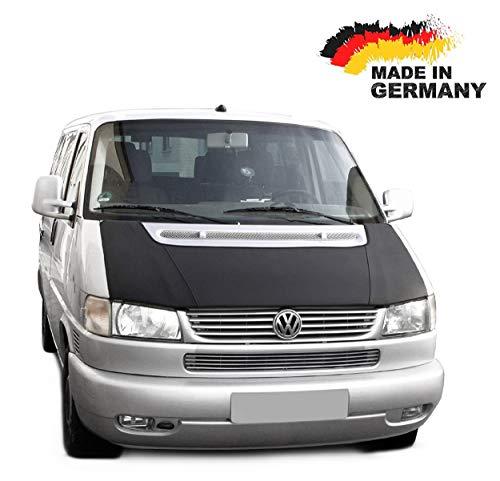 Black-Bull kompatibel mit Haubenbra VW T4 GP Bus FACELIFT Ohne Spoiler Steinschlagschutz TUNING