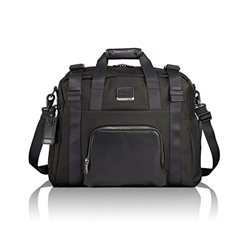 TUMI - Alpha Bravo Buckley Duffel Bag - Travel Laptop Satchel for Men and Women - Black