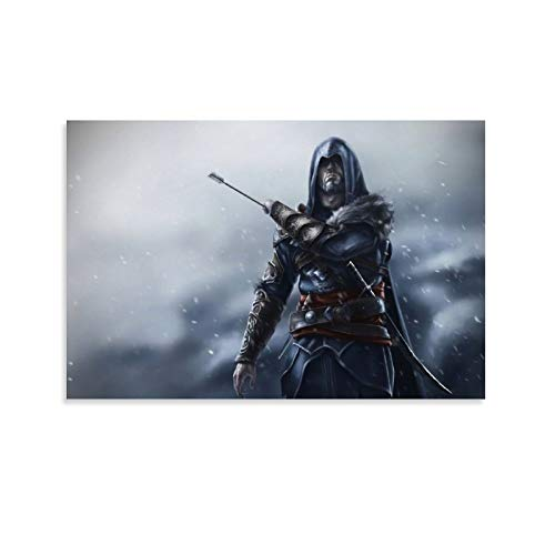 DRAGON VINES Assassin's Creed Revelations Ezio Was Injured Cool Movie Impresión sobre lienzo de 20 x 30 cm