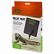 "Zilla Reptile Heating Pad, 10-20 Gallon, Small, 6"" x 8"", Natural, Model:100109937"