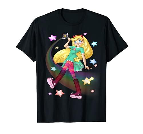 Mariposa estrella contra las fuerzas del mal Camiseta