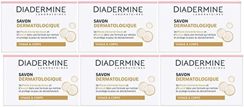 Diadermine - Savon - Dermatologique - 100 g - Lot de 6