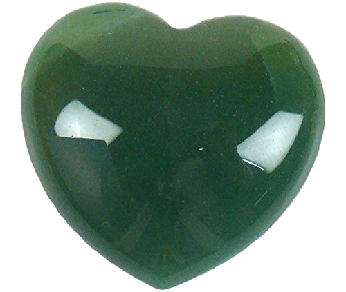 Stone 3.5 x 4 x 1 cm Green Steengoed Heart Aventurine 40 mm