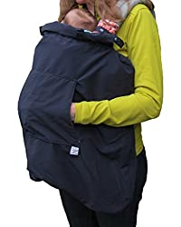 Babywearing winter cover