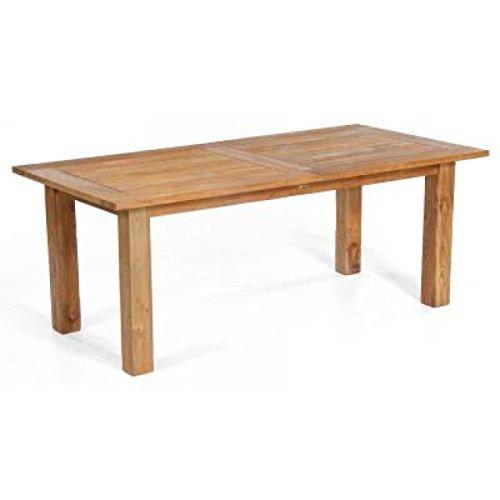 Sonnenpartner Gartentisch ausziehbar Charleston Old Teak 200/260x100cm