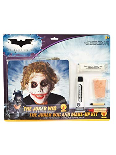 Rubie's Perücke und Make-up-Kit Joker Batman