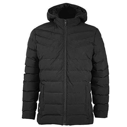 Winterjas, chique katoenen pak met capuchon en verwarming USB winter dikke mantel opladen
