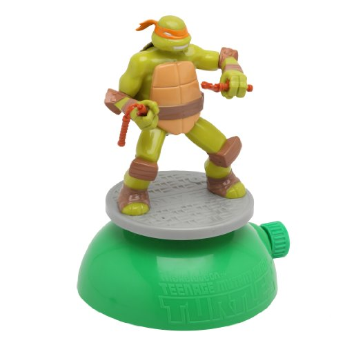 Imperial Toy Teenage Mutant Ninja Turtle Spin and Spray Sprinkler
