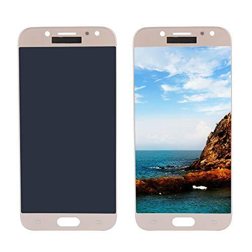 Hopcd Pantalla de Repuesto para teléfono Inteligente para Samsung J5 Pro 2017 J530 Pantalla táctil LCD para teléfono Celular con Herramientas de ensamblaje del digitalizador(Oro)