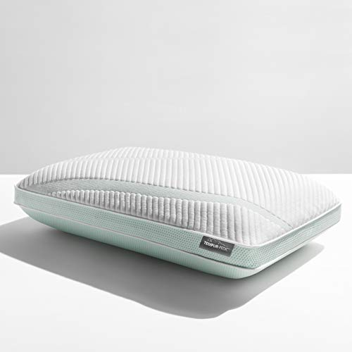 Tempur-Pedic TEMPUR-Adapt ProHi + Cooling-Queen Pillow, white