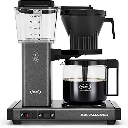 Moccamaster 53949 KBGV Select Coffee Maker, Stone Grey, 40...