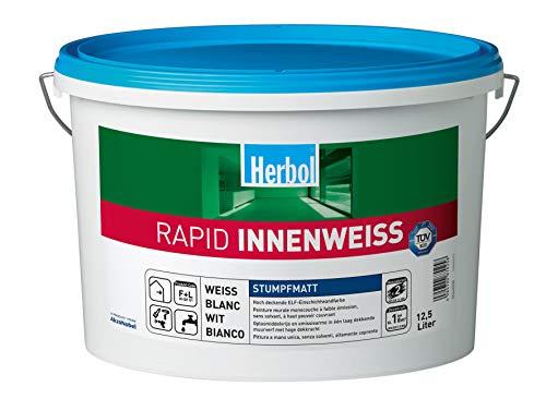 Herbol Innenweiss Rapid Nassabriebklasse 2 12,500 L