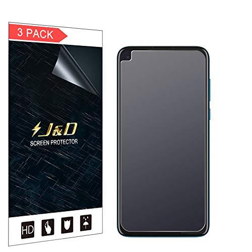 JundD Kompatibel für Motorola Moto G8 Power Schutzfolie, 3er Packung [Antireflektierend] [Nicht Ganze Deckung] [Anti Fingerabdruck] Matte Folie Bildschirmschutzfolie für Moto G8 Power Bildschirmschutz