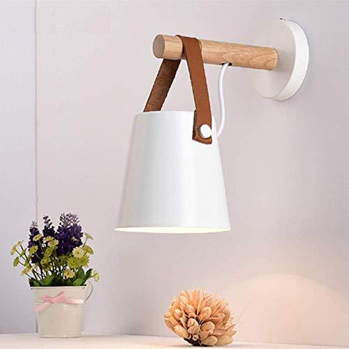 Moderne Applique, applique murale simple intérieure blanche, lumière pendante, veilleuses pour chambre à coucher, couloir, restaurant, studio, salle de séjour
