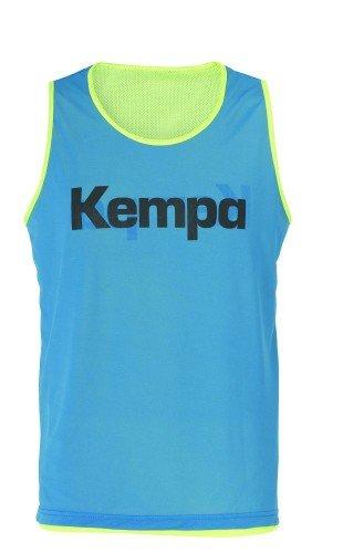 FanSport24 Kempa Wende-Markierungsleibchen, Fluo gelb/blau Größe XL/XXL