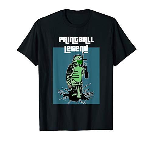 Paintball Legend Paintball Spieler Spruch T-Shirt