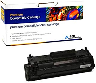 AIM Compatible Replacement for HP Laserjet 1010/3055 Toner Cartridge (2000 Page Yield) (NO. 12A) (Q2612AC) - Generic