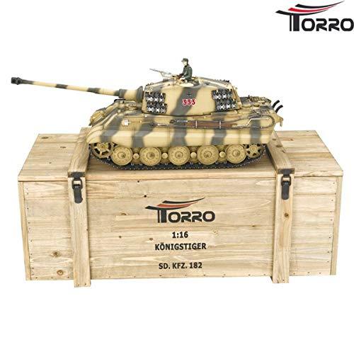TORRO 1/16 RC KÖNIGSTIGER TIGER II 6mm BB PROFI-EDITION