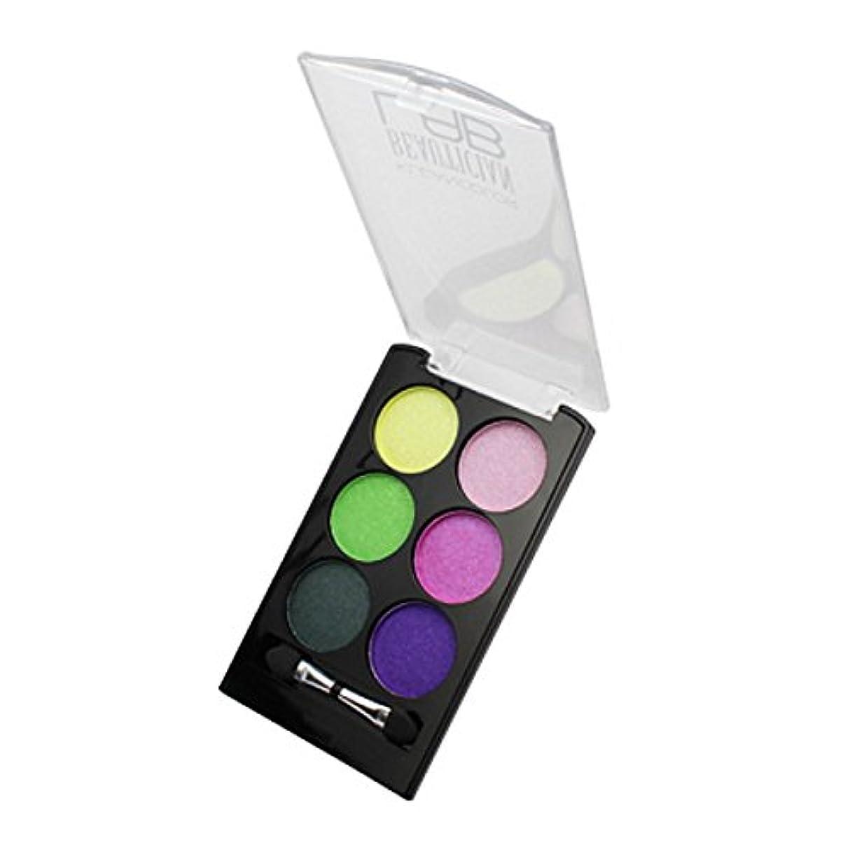 粗いグレードと組む(3 Pack) KLEANCOLOR Beautician Lab Shimmer Shadow Pallete - Futuristic (並行輸入品)