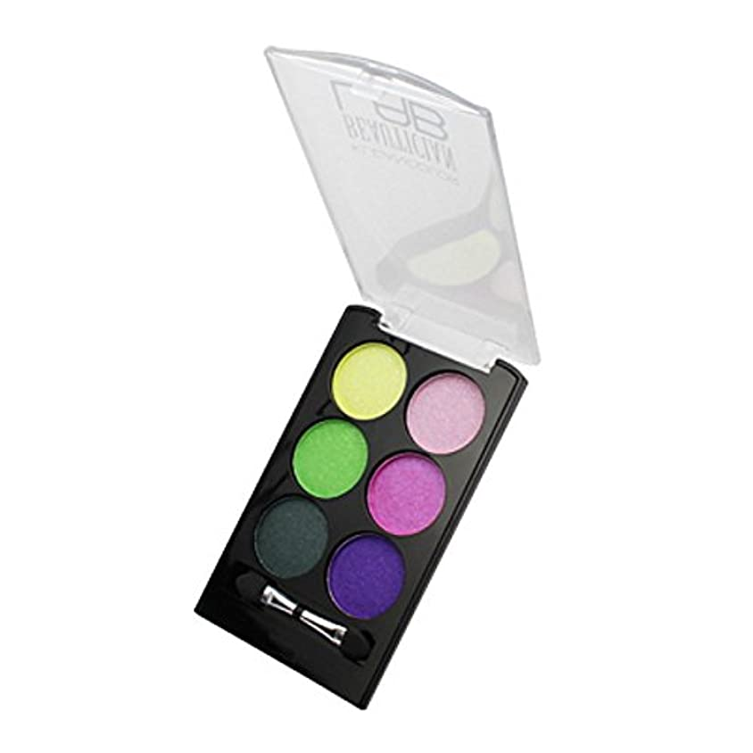 シャーロックホームズ水素誓い(3 Pack) KLEANCOLOR Beautician Lab Shimmer Shadow Pallete - Futuristic (並行輸入品)