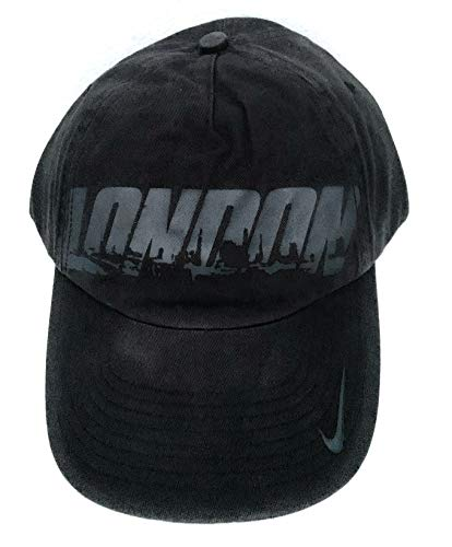 NIKE Gorra de béisbol unisex de edición limitada para adultos, 572725 010, color negro