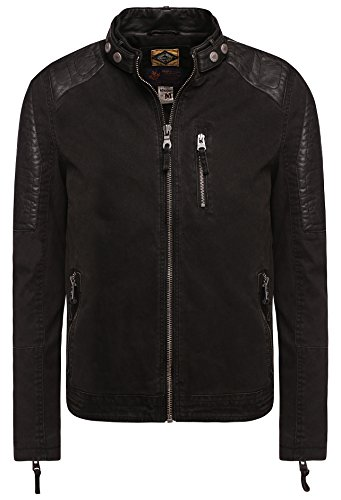 khujo Herren Jacke Maple 2435JK161_200 200 Black, M