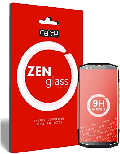 ZenGlass (2 Stück Flexible Glas-Folie kompatibel mit Blackview BV9000 Pro Panzerfolie I Display-Schutzfolie 9H