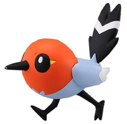 TAKARA TOMY Takaratomy Officiel Pokémon X et Y Mc-009 ~ 5,1 cm Fletchling/Yayakoma Action Figure