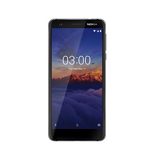 Nokia 3.1 16GB Handy, schwarz, Android 8.0 (Oreo), Dual SIM