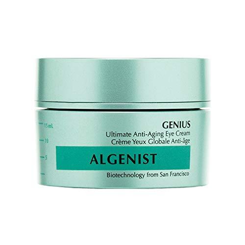 Algenist GENIUS Ultimate Anti-Aging Eye Cream - Vegan Firming & Smoothing Under Eye Cream with Microalgae Oil & Collagen - Non-Comedogenic & Hypoallergenic Skincare (15ml / 0.5oz)