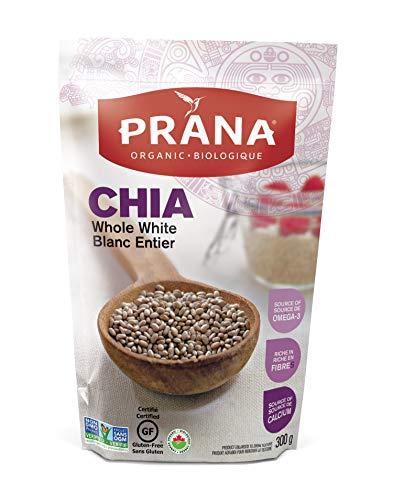 PRANA Organic Whole White Chia Seeds, 300g