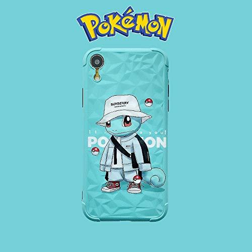 For Pokemon Couple XR/iPhone 11cell telefoon geval, iPhone X soft shell xsmax all-in te pakken 8Plus persoonlijkheid 7P siliconen beschermhoes iPhone 11promax creatieve XS mannen en vrouwen Originee