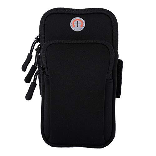 N\C Brazalete Deportivo Universal con Soporte para teléfono Inteligente para Samsung Galaxy S10 Bolsa de Brazo para Correr, Escalar, Caminar y Acampar