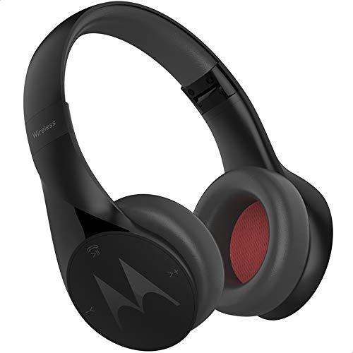 Fone de Ouvido Bluetooth, Motorola, Pulse Escape+, SH013 BK, Preto