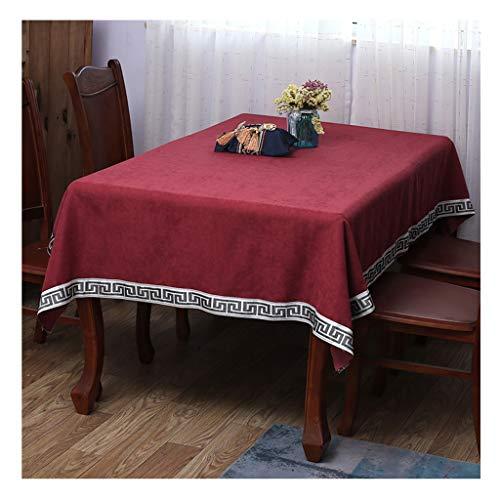 Qiao jin tafelkleed, 150 x 200 cm, effen kleuren, Europese tafelkleed, hotel, tafel, salontafel, linnen, camping, grill, polyester, vezels, tafelkleden