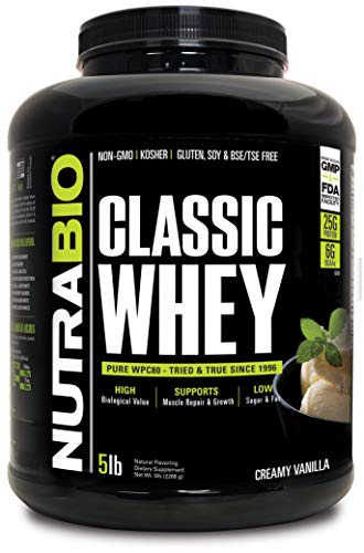 Top nutrabio grass fed whey protein for 2021