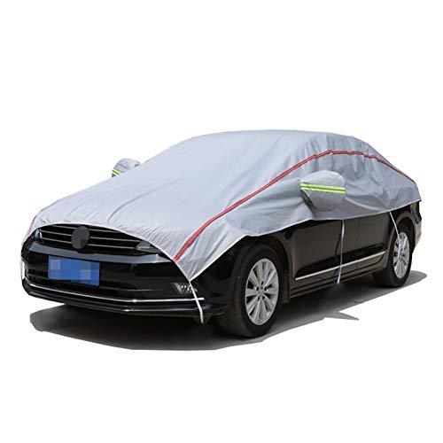 Fundas para coche Cubierta de coches Compatible con Clase S Mercedes-Maybach, Cubierta de medio cochecito transpirable impermeable, cubierta de parabrisas gruesa, cubierta de espejo de lana de algodón