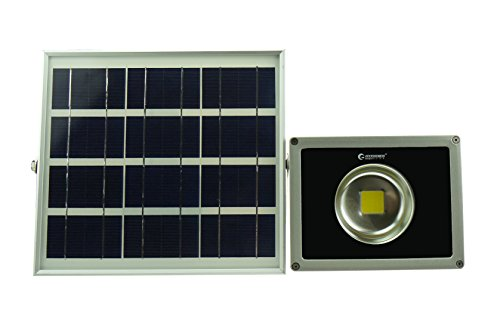 GOODGOODS COB LED ガーデンライト ソーラー 屋外 防水 20W 充電式 電池交換対応式 光センサー付き 【一年保証】 TYH-20C