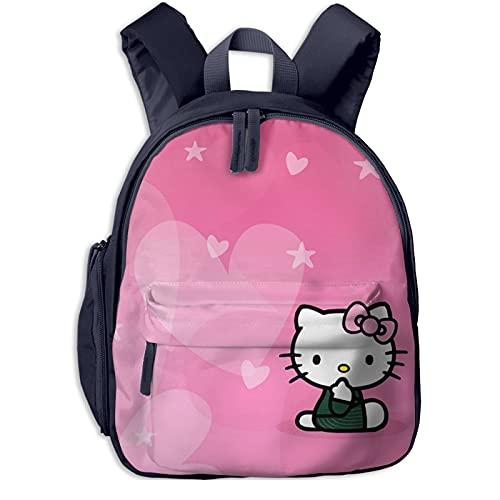 Hello Kitty - Mochila con forma de corazón, color rosa