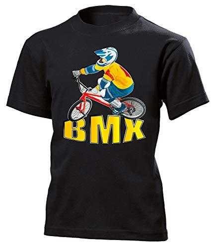 BMX Geburtstag Geschenke Kinder Kids Unisex t Shirt Tshirt t-Shirt für Fahrradfahrer zubehör Fahrrad Moutain fahrräder rennrad Radsport BMX Bekleidung Oberteil Hemd Kleidung Outfit