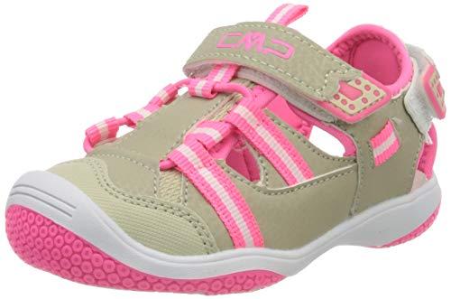 CMP – F.lli Campagnolo Unisex Kinder Baby Naboo Hiking Sandalen, Beige (Sabbia P407), 27 EU