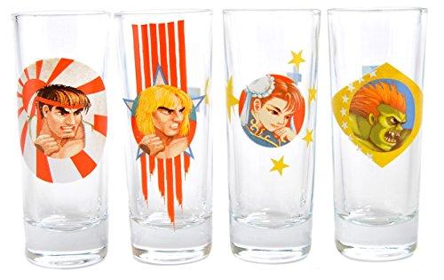 Capcom Bicchieri chupito, Multicolor, 19.5 (W) x 11 (H) x 5.5 (D) cm