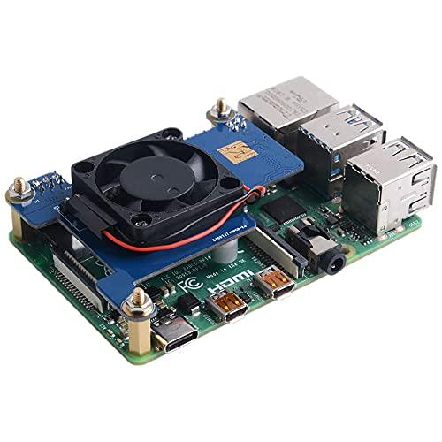 Digitalkey Module Poe Hat pour Raspberry Pi3 et PI4 avec ventilateur