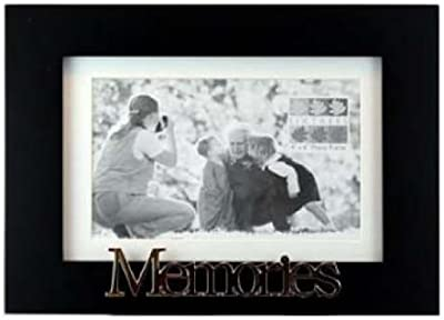 Frames by Mail multimat-58720-aam0114 Triple Square Opening Collage Frame for 5 x 3.5 Photo Gold